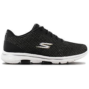 Skechers GOwalk 5 - Debut - Women's Shoes Black 124021-BKGD Sneakers Sports Shoes