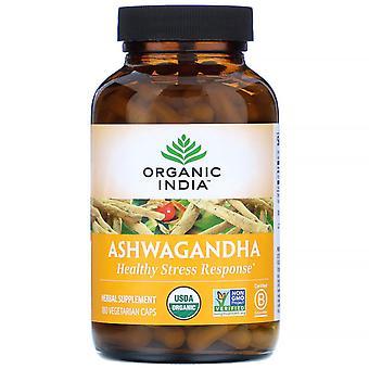 Organic India, Ashwagandha, 180 Vegetarian Caps