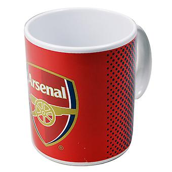 Arsenal FC Official Fade Ceramic Football Crest Mug