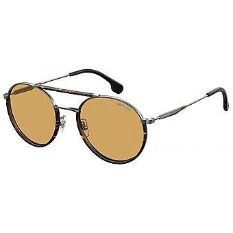 Sonnenbrille Unisex  208/S   havanna/silber mit braunen Gläsern