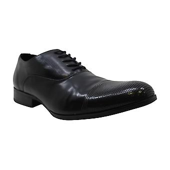 Unlisted Men's Shoes Tex-Book Leather Lace Up Dress Oxfords
