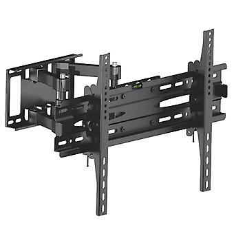 Wall Mount Tilt Tv Bracket - Monitor Holder, Rack With Full Extension Arms