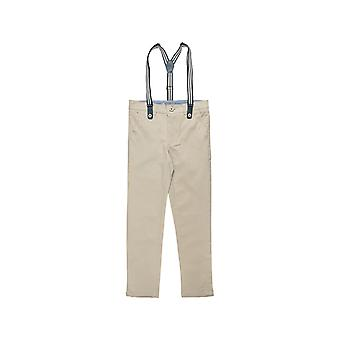 Alouette Boys' Pants With Removable Straps And Pockets