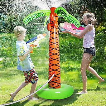 Inflatable Sprinkler Cushion Outdoor Splash Pad Toys For Baby Children- Summer Garden Party Play Mat Water Recreation Plaything
