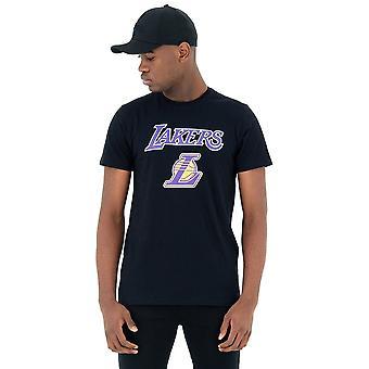 New Era Nba Los Angeles Lakers 11530752 koszykówka przez cały rok mężczyzn t-shirt