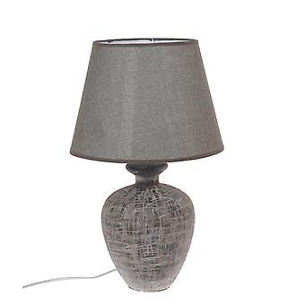 Lamptafel grijs keramische H49 cm