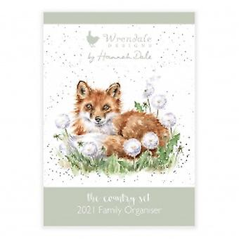 Wrendale Designs 2021 Familiekalender