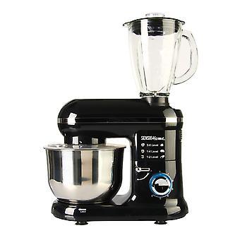 Sensio Home 2-in-1 1300W Food Processor Blender & Stand Mixer Machine