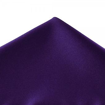 Solmiot Planet Plain Purple Pocket Square Nenäliina