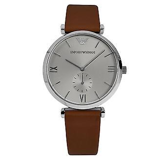 Emporio Armani Mens' Watch - AR1675 - Silver/Black