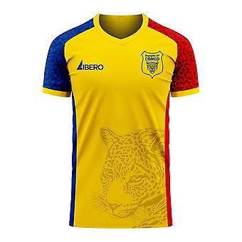 République du Congo 2020-2021 Away Concept Football Kit (Libero)