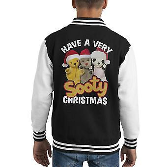 Noki joulu on erittäin noki joulu Kid's Varsity Takki