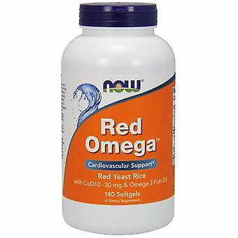 الآن الأطعمة الحمراء أوميغا، 180 Softgels
