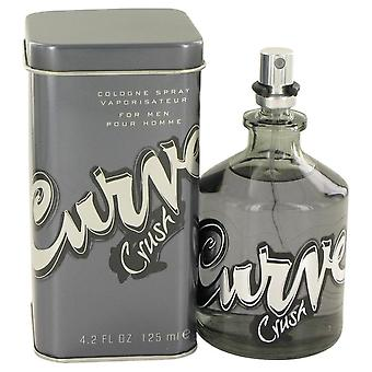 Kurve Crush Eau De Cologne Spray von Liz Claiborne 4,2 oz Eau De Cologne Spray