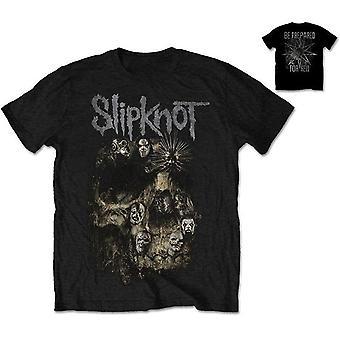 Camiseta De Slipknot Skull Group