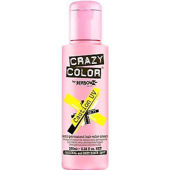 Renbow Crazy Color Semi Permanent Hair Dye - Caution Uv 100ml