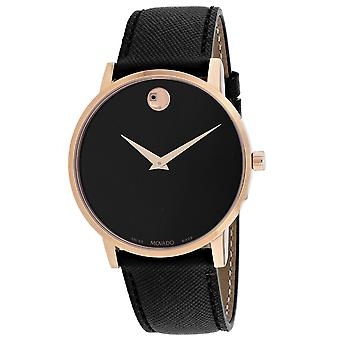 Movado Men-apos;s Museum Sport Black Dial Watch - 607196