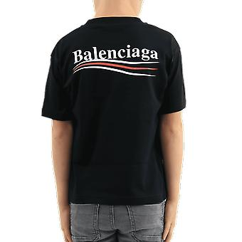 Balenciaga T-shrt Kids Black 556155TIVB51070 Top