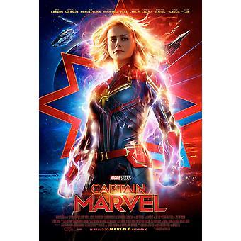 Captain Marvel Original Movie Poster Final Style