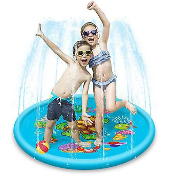 110cm Ou 170cm Pliage Portable Sprinkler Water Play Mat- Extérieur Gonflable