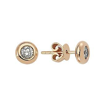 Solitaire Diamond Earring