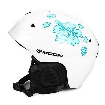 Moon Ski Helm, Single Board Double Snowboard Protective Gear Equipment
