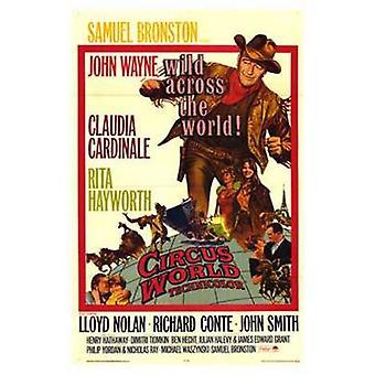サーカスの世界映画のポスター (11 x 17)