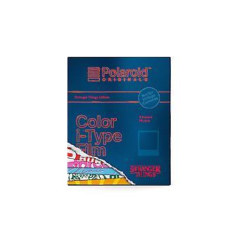 Polaroid-alkuperäiskappaleet - 4926 - värikalvo i-tyypille - stranger things edition värielokuva - muukalainen