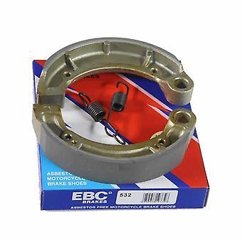 EBC Y532 Brake Shoes OEM 732.22.41 for Yamaha 250 YFM Bear Tracker 2005-2005 Pair