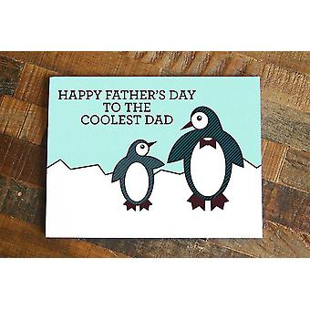 Funny Penguin Father's Day Card