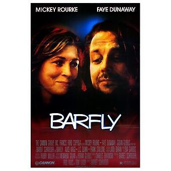 Impresión de póster de película Barfly (27 x 40)