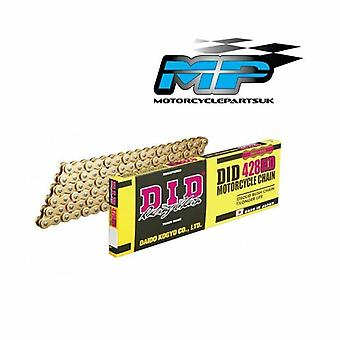 DID Heavy Duty Gold 428-122 Motorcycle Drive Chain