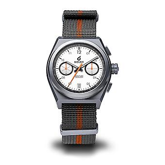 BOLDR RALLY I - WELLS 008 Titanium Grey Nato Strap Wristwatch