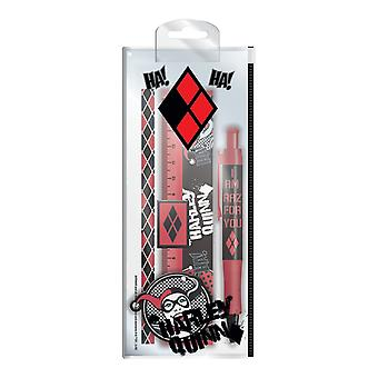 DC Comics I Am Crazy For You Harley Quinn Stationery Set