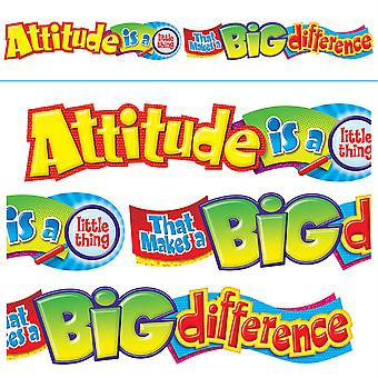 Attitude Is A Little Thing Quot. Expressions Banner, 10'