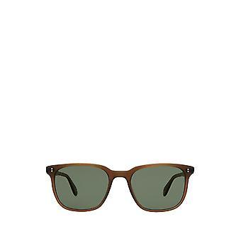 Garrett Leight EMPEROR SUN matte espresso unisex sunglasses