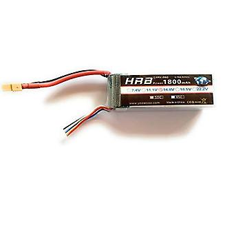 14.8v 1800mah 50c 4s lipo battery with xt60 plug for fpv racing rc quadcopters multi-motor hobby airplane helicopters
