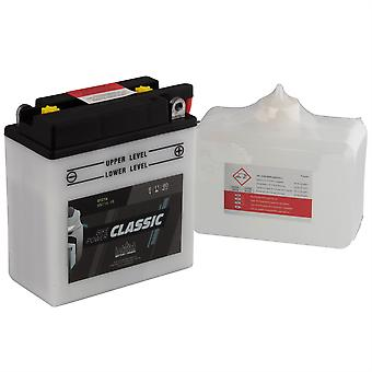 intAct 6N11A-1B Classic Bike-Power Battery With Acid Pack