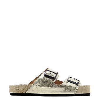 Manebí R11r0 Women's Gold Leather Sandals