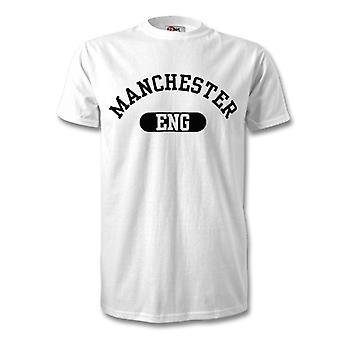 T-shirt de cidade de Manchester Inglaterra