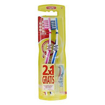 Brosse à dents Active Binaca (2 Pièces)