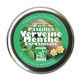 Verbena, Mint, Cardamom lozenges 45 g