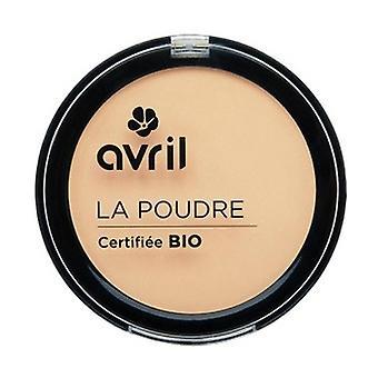 Compact porcelain powder - certified organic 7 g of powder