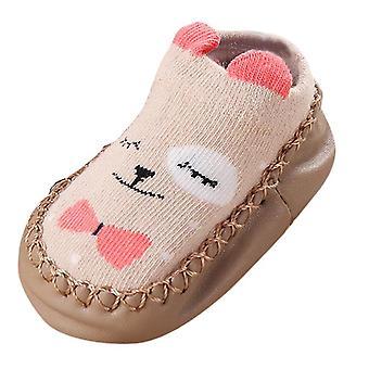 Newborn Baby Cartoon Ears Floor Anti-slip Socks