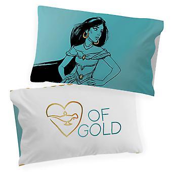 Disney Princess Jasmine Sketch yksi käännettävä tyynyliina