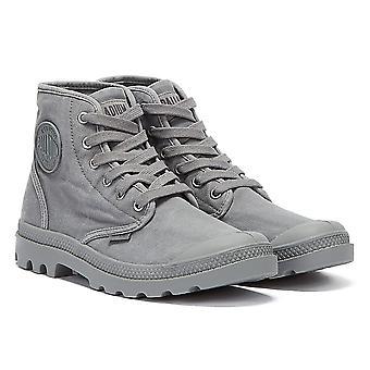 Palladium Pampa Hi Mens Dark Grey Boots