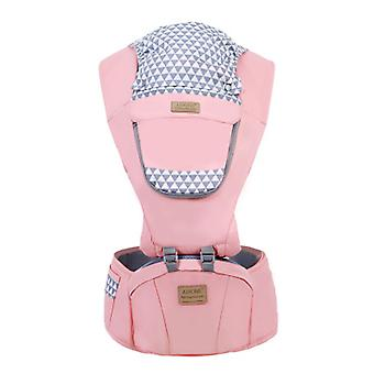 Baby Carrier With Hip Seat For Breastfeeding, One Size Fits All Adapt To Newborn