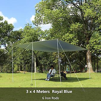 Camping Wear Resistant Sun Shade Awning Easy Install Tent Outdoor Backyard Lawn Pergola Beach Canopy