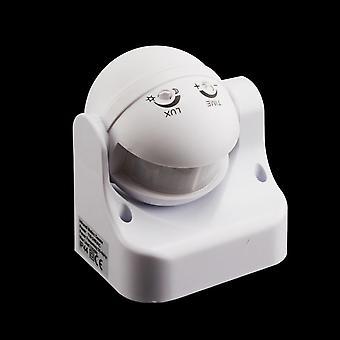 Yeni 180 Derece Hareket Sensörü Işık Anahtarı, Dış Mekan Hareket Sensörü Dedektörü