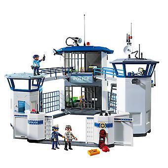 مقر شرطة بلاي موبيل مع السجن
